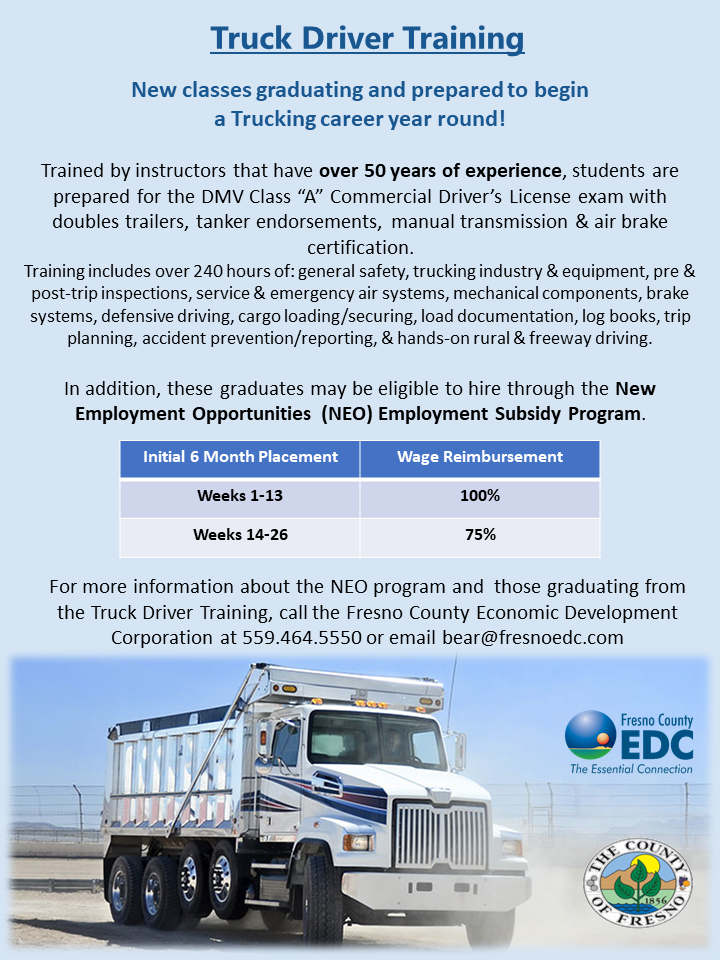 Truck Driver Training