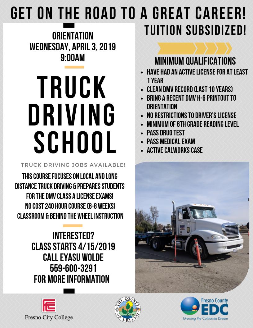 Truck Driving Orientation #31 3.13.19